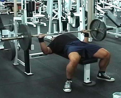 Extreme Bench Press Workout Mindset Fitness